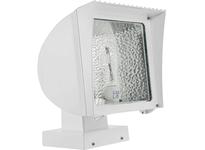 RAB FXH125XPSQW FLEXFLOOD 125W MH PSQT HPF PULSE ST WALL MOUNT+ LAMP WHT