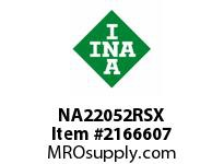 INA NA22052RSX Yoke type track roller