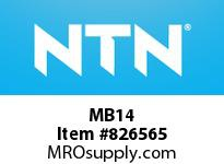 NTN MB14 Locking washer for sleeve