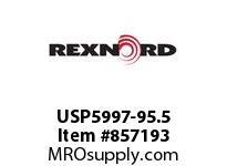 REXNORD USP5997-95.5 USP5997-95.5 USP5997 95.5 INCH WIDE MATTOP CHAIN