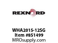 REXNORD WHA2015-12SG WHA2015-12 S4 N1.33