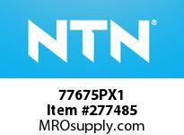 NTN 77675PX1 MEDIUM SIZE TAPERED ROLLER BRG