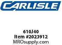Carlisle 610J40 J Bulk Sleeves