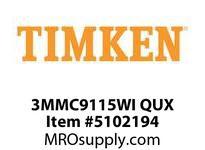 TIMKEN 3MMC9115WI QUX Ball P4S Super Precision