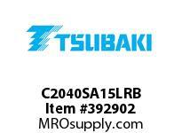 US Tsubaki C2040SA15LRB C2040 RIV 5L/SA-1