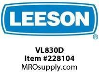 LEESON VL830D MOD - VL MOUNT FOR 830 SERIES / OUTPUT SHAFT DOWN