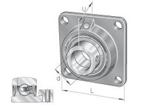 INA PCF50 Four-bolt flanged unit