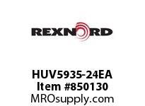 REXNORD HUV5935-24EA HUV5935-24 E8-1/8D