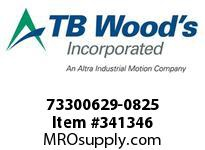 TBWOODS 73300629-0825 73300629-0825 9S T-SF CPLG