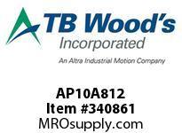 TBWOODS AP10A812 AP10 X 8.12 SPACER ASSY CL A