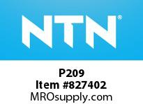 NTN P209 Bearing Units - Cast Housing