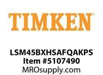 TIMKEN LSM45BXHSAFQAKPS Split CRB Housed Unit Assembly