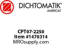 Dichtomatik CPT07-2250 CAPPED T-SEAL