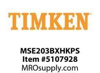 TIMKEN MSE203BXHKPS Split CRB Housed Unit Assembly