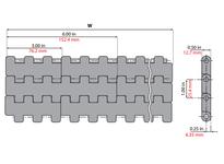 System Plast 261019 LFG2252FT-K6000 MPB-INCH