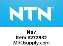 NTN N07 BRG PARTS(ADAPTERS)