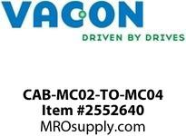 Vacon CAB-MC02-TO-MC04 I/O cabling extension kit for replacing Vacon 100 HVAC units with Vacon 100 or Vacon 100 FLOW Opt