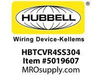 HBL_WDK HBTCVR4SS304 WBACCSCOVER4^WIDE304 STAINLESS