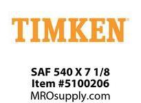 TIMKEN SAF 540 X 7 1/8 SRB Pillow Block Housing Only