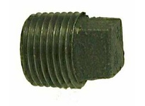 MRO 65660 3 BLACK SQ HD CORED PLUG