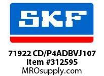 SKF-Bearing 71922 CD/P4ADBVJ107