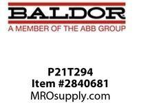 BALDOR P21T294 30 HP 1750 TEBC FL2162C (250TC) :