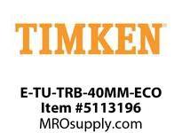 TIMKEN E-TU-TRB-40MM-ECO TRB Pillow Block Assembly