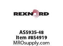 REXNORD AS5935-48 AS5935-48 AS5935 48 INCH WIDE MATTOP CHAIN WI