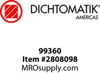 Dichtomatic 99360 STAINLESS STEEL SHAFT SLEEVE SHAFT SLEEVE