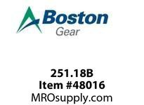 BOSTON 251.18B BORE REDUCER 18 4MM-- BORE REDUCER