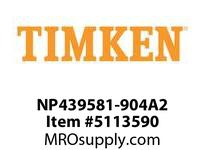 TIMKEN NP439581-904A2 TRB Single Assembly 18-24 OD