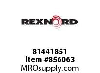 REXNORD 81441851 FTR8506-58 F1 T8P N2 SP FTR8506-58 CHAIN ASSEMBLY F1 INDENT