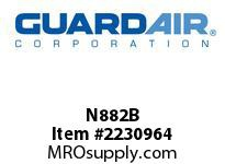 Nordair N882B 8 Gallon Single-Ply Recovery Bags