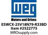 WEG ESWCX-25V18N79-R33BD XP FVNR 15HP/460 N79 120V Panels