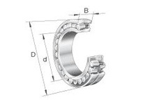 FAG 23220E1A.M DOUBLE ROW SPHERICAL ROLLER BEARING