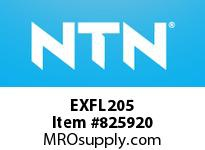 NTN EXFL205 Oval flanged bearing unit