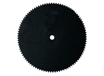 06A76 Metric A-Plate Roller Chain Sprocket