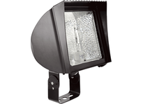 RAB FX70TQT/PC FLEXFLOOD 70W HPS QT HPF TRUNNION + 120V PC LAMP BRONZE