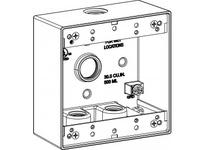 Orbit 2B50-4 2-G W/P BOX 4 1/2^ HUBS 2^ DEEP