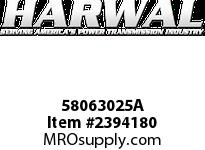Harwal 58063025A 580 x 630 x 25A NBR