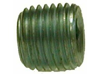 MRO 66760 1/16 GALV C/S HEX STEEL PLUG (Package of 20)