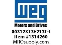 WEG 00312XT3E213T-I 3HP 1200 3 60 208-230/460 XP - Nema Pr