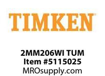 TIMKEN 2MM206WI TUM Ball P4S Super Precision