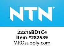 NTN 22215BD1C4 SPHERICAL ROLLER BRG D<=203.2