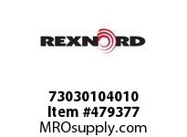REXNORD 145738 73030104010 30 HCB 1.2500 BORE 2 SS