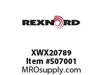 XWX20789 FLANGE CARTRIDGE BLK W/HD 135414