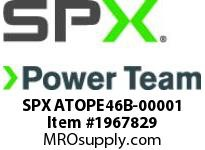 SPX ATOPE46B-00001 PE46B-N-XX-H-A-H-A-A-A-C-A-00-A-G