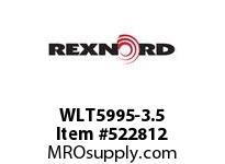 REXNORD WLT5995-3.5 WLT5995-3.5 172705