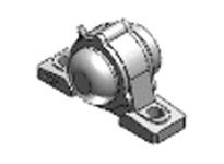 NTN CM-UKP208D1 MOUNTED UNIT (CAST IRON)