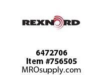 REXNORD 6472706 60-GC5211-01 IDL*20 A/S STL UEQ R/G